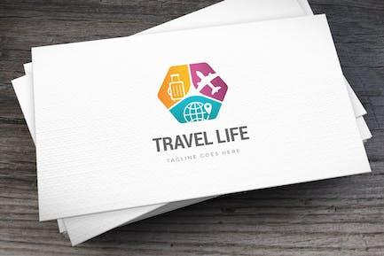 Travel Life Logo Template