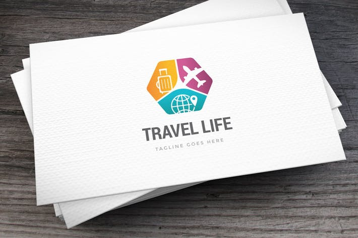 Thumbnail for Travel Life Logo Template