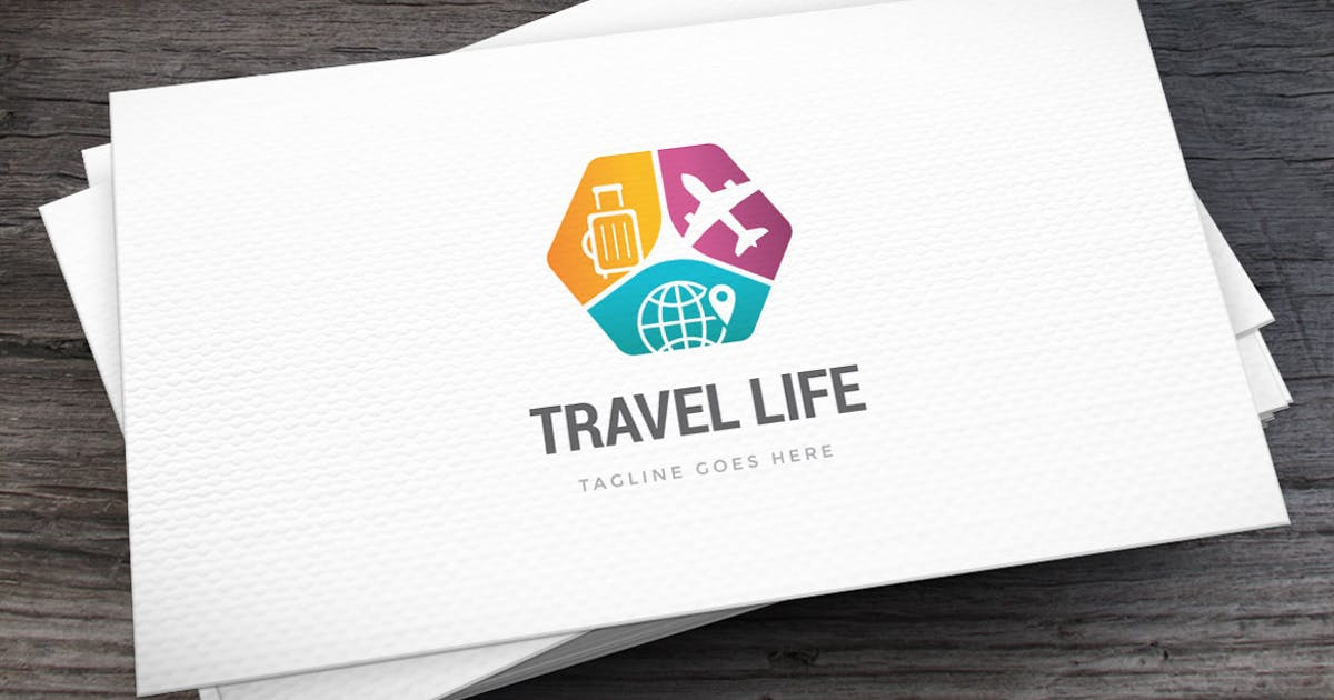 Download Travel Life Logo Template by empativo