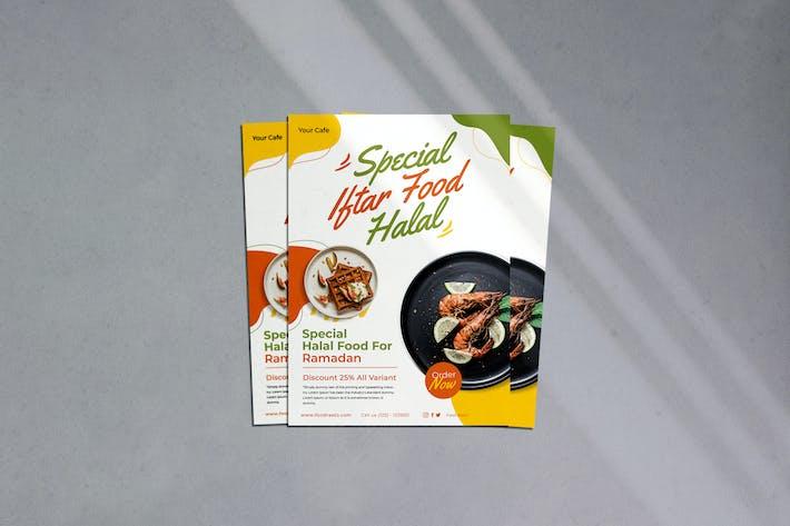 Iftar Food Flyer