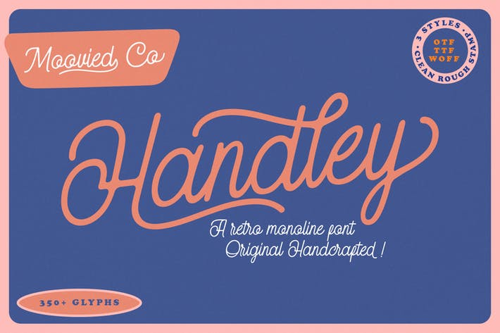Thumbnail for Handley Monoline Retro