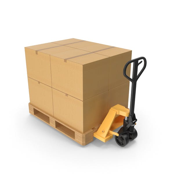 Thumbnail for Manual Hydraulic Loader With Pallet