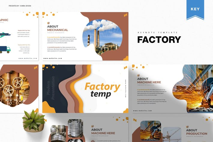 Thumbnail for Factory | Keynote Template