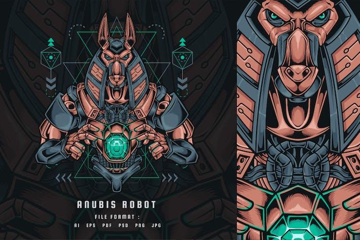 Anubis Робот Священная геометрия