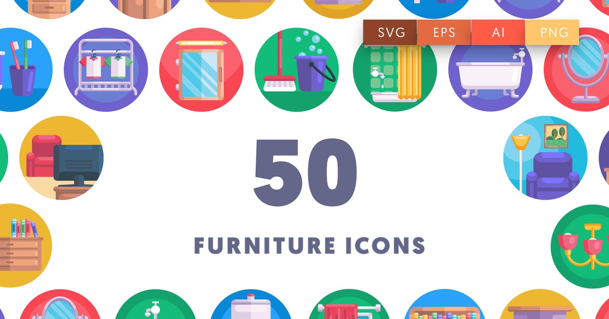 Download Furniture Icons by thedighital