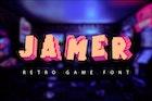Jamer| retro game font