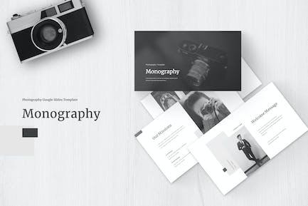 Monography - Google Slides Template
