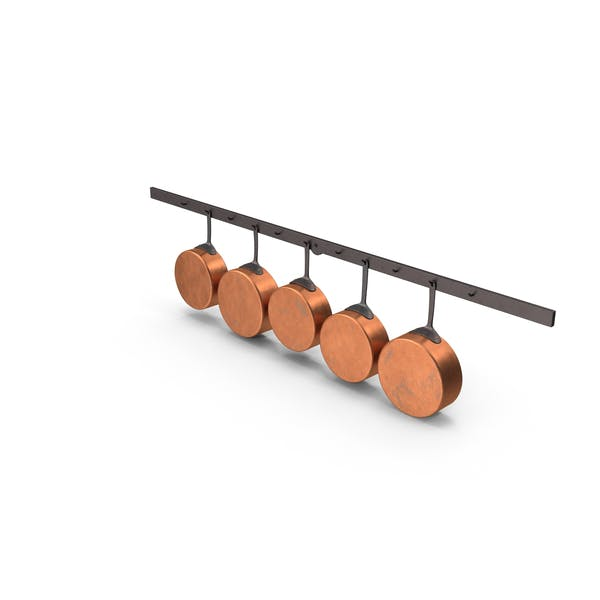Kitchen Pan Rack