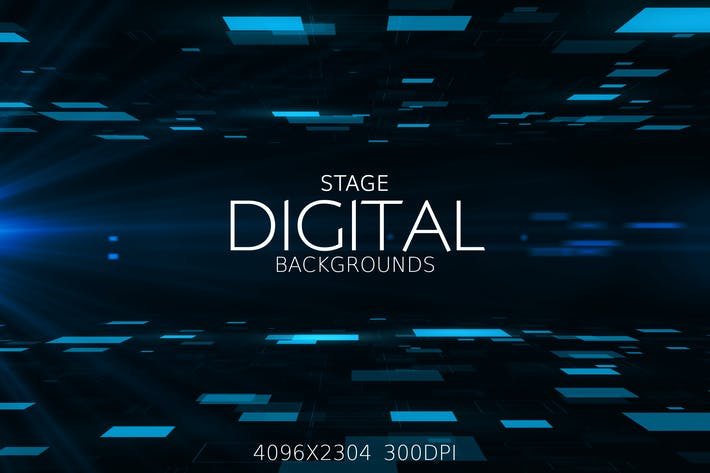 Thumbnail for Digital Stage Backgrounds