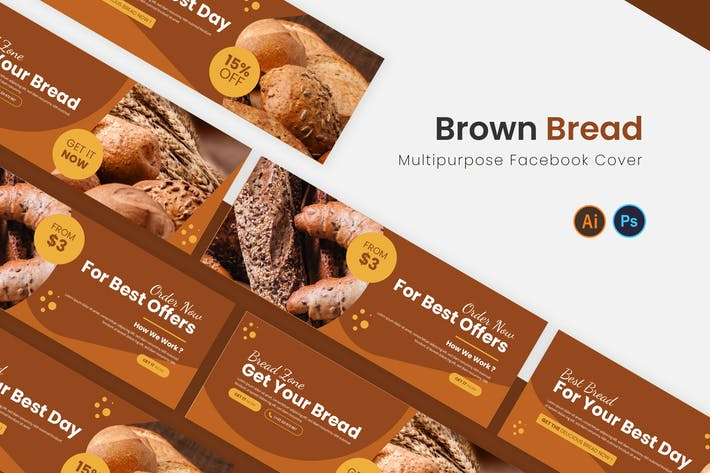 Thumbnail for Brown Bread Facebook Cover