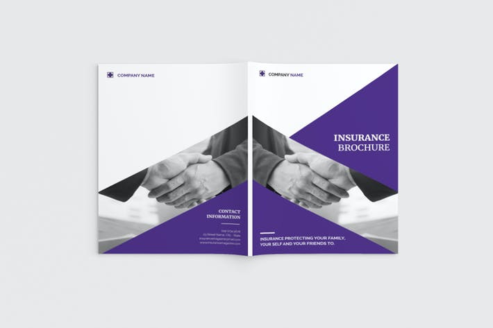 Lifevest - A4 Insurance Brochure Template