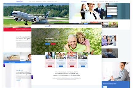 Insurify - Website Template for Insurance Agency