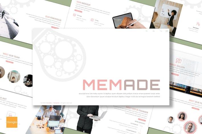Memade - Business Google Slides Template
