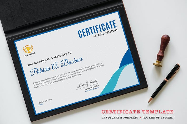 Thumbnail for Certificate Template-05