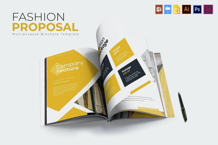 Thumbnail for Fashion | Proposal Template
