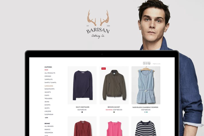 Thumbnail for Barisan Multipurpose eCommerce Website Template
