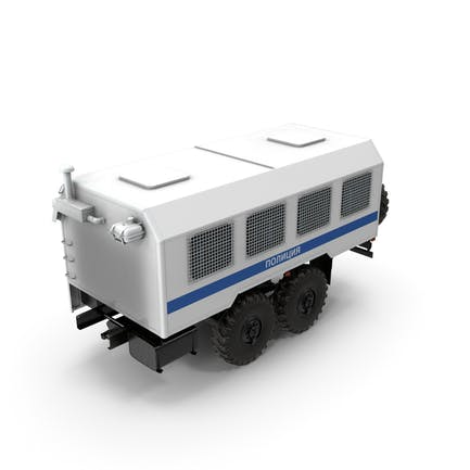 Russian Police Truck Wagon