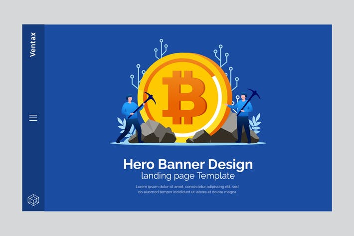 Thumbnail for Ventax - Hero Banner Template