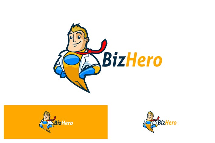 Thumbnail for BizHero - Superhero in Businessman Suit