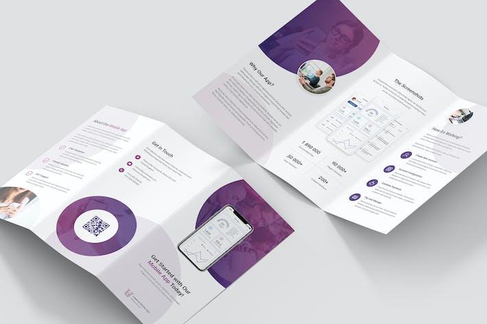 Thumbnail for Brochure – Creative App Tri-Fold