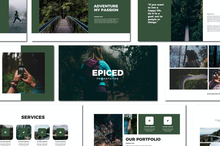 Cover Image For Epiced - Powerpoint Templates