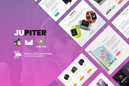 Jupiter - E-commerce Responsive Email Template