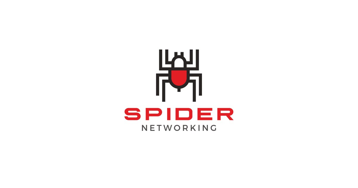 Spider Network Logo by graphix_shiv