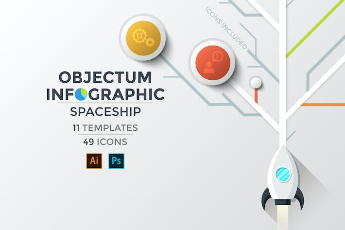Thumbnail for Objectum Infographic: Spaceship