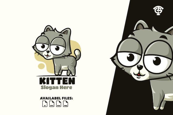 Thumbnail for Kitten- Logo Mascot