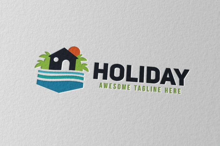 Cover Image For Holiday Logo