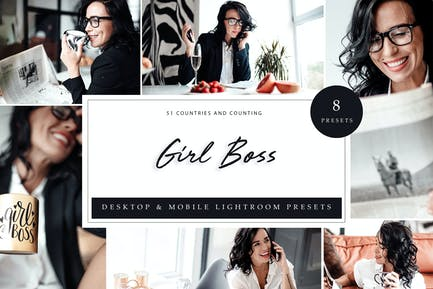 Lightroom Presets - Girl Boss