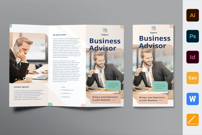 Thumbnail for Business Advisor Brochure Trifold