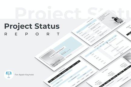 Project Status Report Keynote