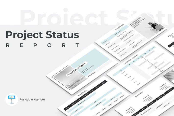 Thumbnail for Project Status Report Keynote