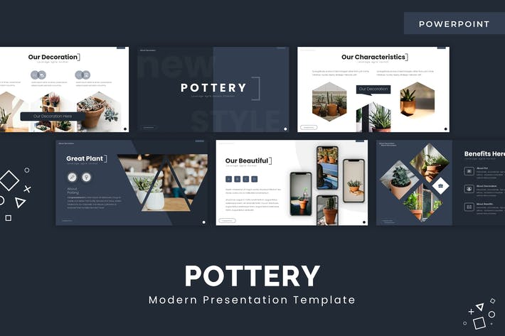 Thumbnail for Pottery - Powerpoint Template