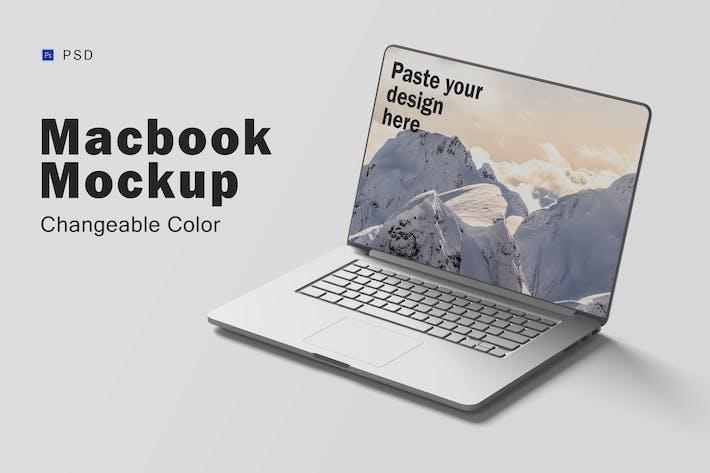 Thumbnail for Macbook Mockup V.5