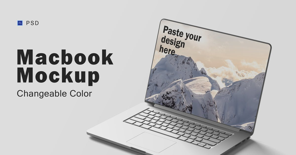 Download Macbook Mockup V.5 by GraphicMonday