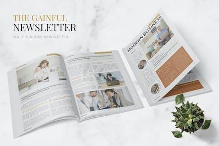 Gainful Economy Newsletter