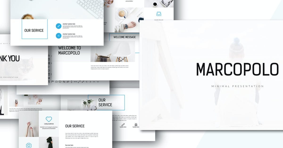 Download MARCO - Powerpoint template by Unknow