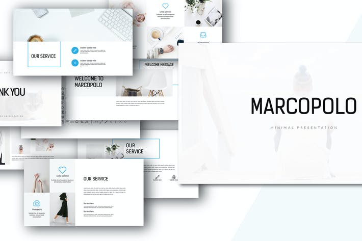 MARCO - Powerpoint template by dirtylinestudio on Envato Elements