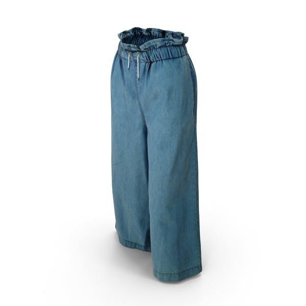 Женские брюки Темно-синий