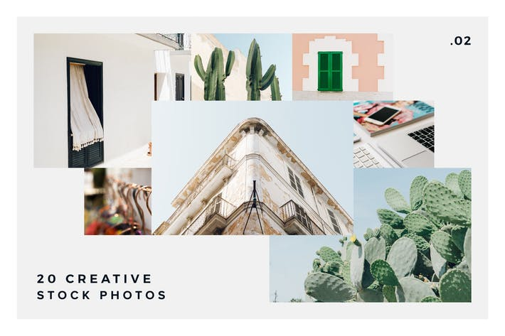 Thumbnail for 20 Stock Photos Creative Pack vol.2