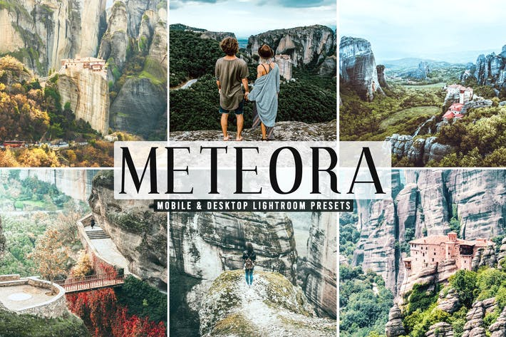 Thumbnail for Meteora Mobile & Desktop Lightroom Presets