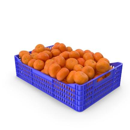 Mandarin Orange Crate
