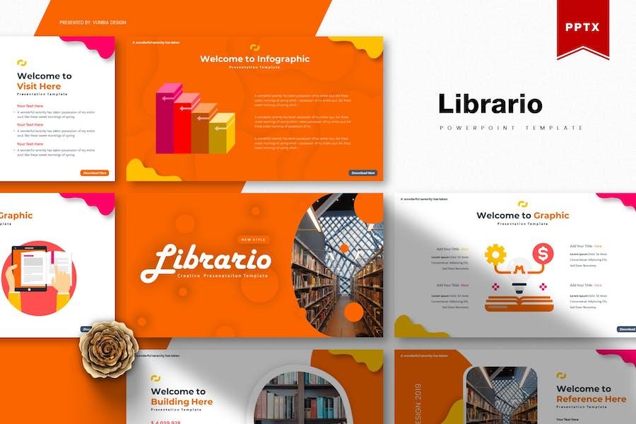 Librario | Powerpoint Template