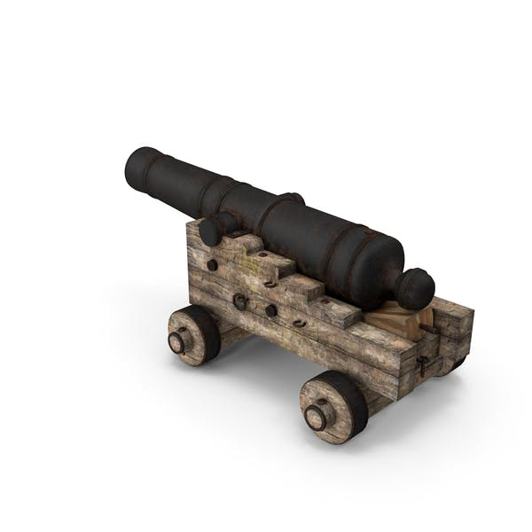 Old Pirate Cannon