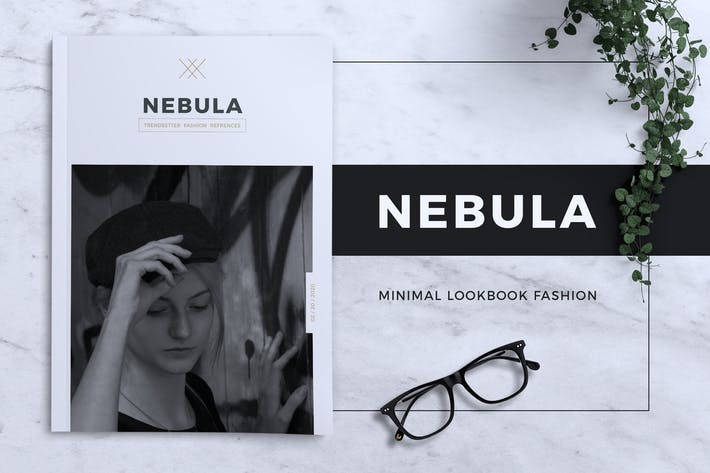 Thumbnail for NEBULA Minimal Lookbook Fashion