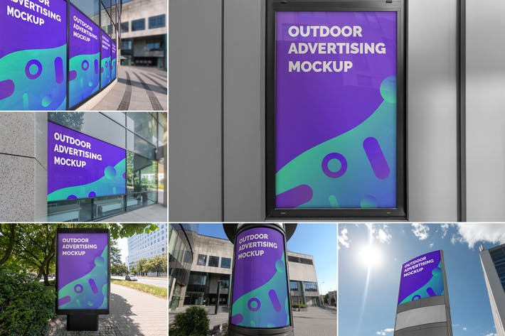 Thumbnail for Outdoor Advertising Mockups Vol. 3