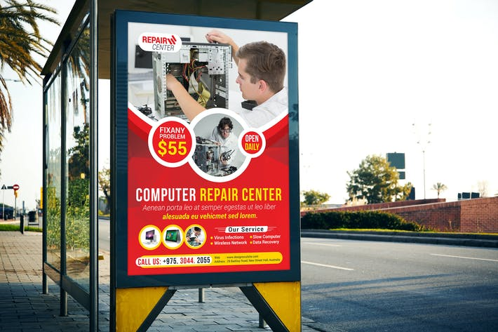 Thumbnail for Computer Repair Poster