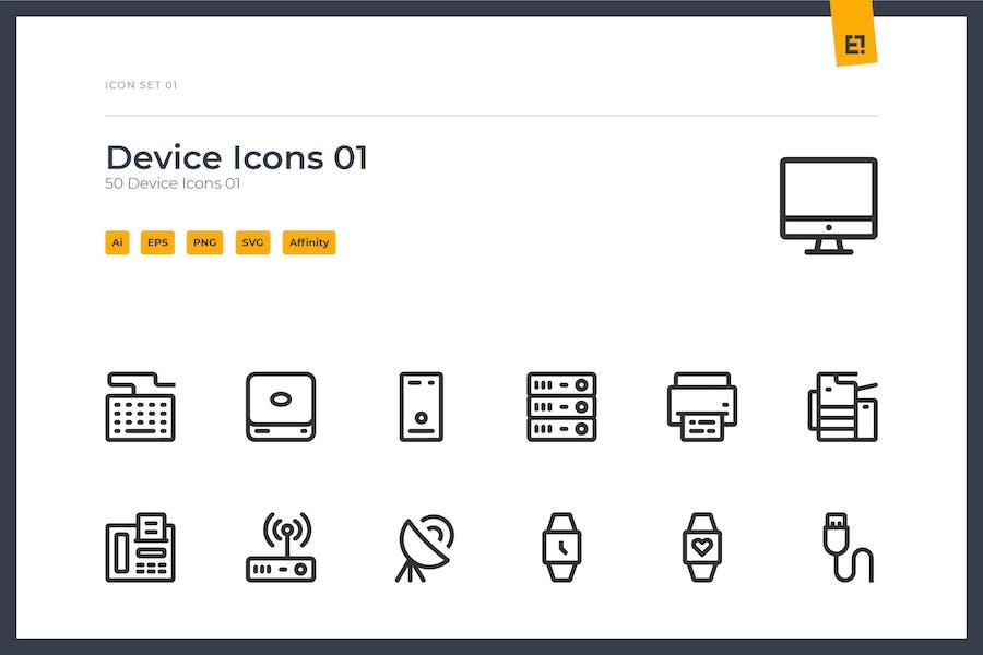 Icono - Conjunto de iconos de dispositivo 01